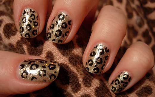 U�as leopardo